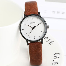 New Casual Lady Watch For Girls Watches Simple Style Small Dial Soft Leather Strap Fashion Women Wristwatch relogios femininos ulzzang fashion simple small dial dress women watch ladies girls young watch leather women wristwatch