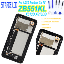 For Asus Zenfone GO TV ZB551KL X013D LCD Display with Touch Screen for Zenfone GO ZB551KL X013DB Display Repair Part with Tools asus asus view flip для zenfone go zb551kl g550kl