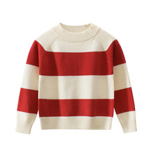 Sweater Boys Spring Knitted Girl Baby-Boy-Girl Autumn Kids Children Tops Clothing Clothes for 2 3 4 5 6 7 8 Years(China)