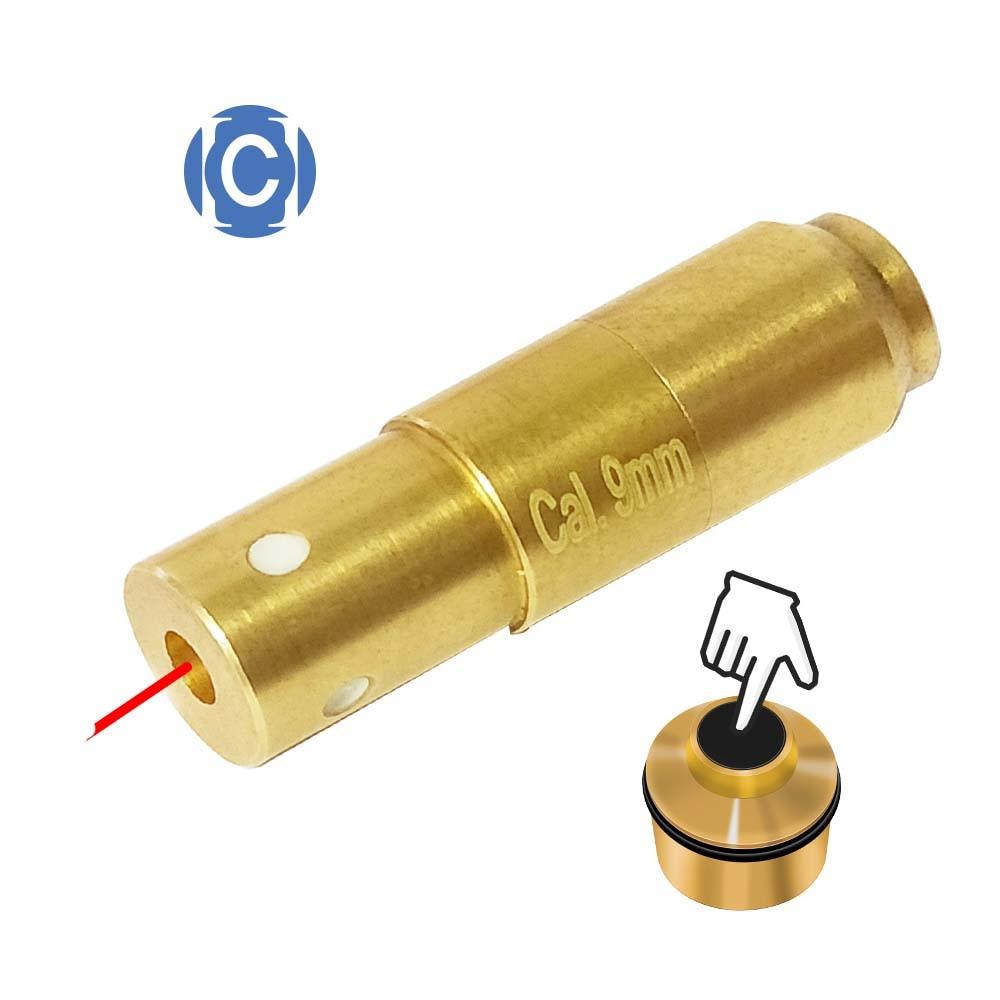 Лазерные боеприпасы 9 мм, лазерная пуля, лазерный картридж для тренировки сухих огней и имитации стрельбы