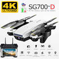 SG700D Drone 4K HD double caméra WiFi transmission fpv flux optique Rc hélicoptère Drones caméra RC Drone quadrirotor Dron jouet