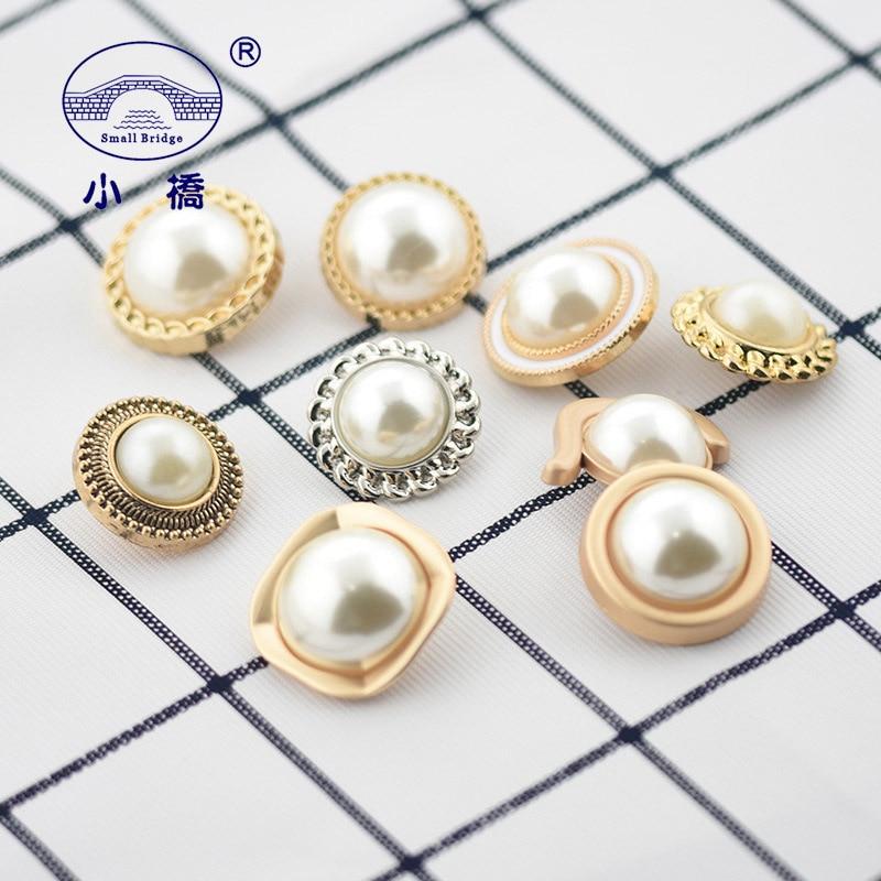 10Pcs//Set Retro Metal Shank Buttons DIY Sewing Clothes Handwork Craft Decoration
