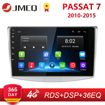 "10 ""2g + 32g android 8.1 4g rede rds rádio do carro reprodutor de vídeo multimídia para vw volkswagen passat b7 b6 2010-2015 magotan cc dsp"
