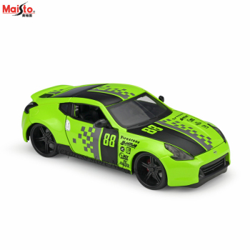 цены Maisto 1:24 2009 Nissan 370Z sports car modified version alloy car model crafts decoration collection toy tools gift