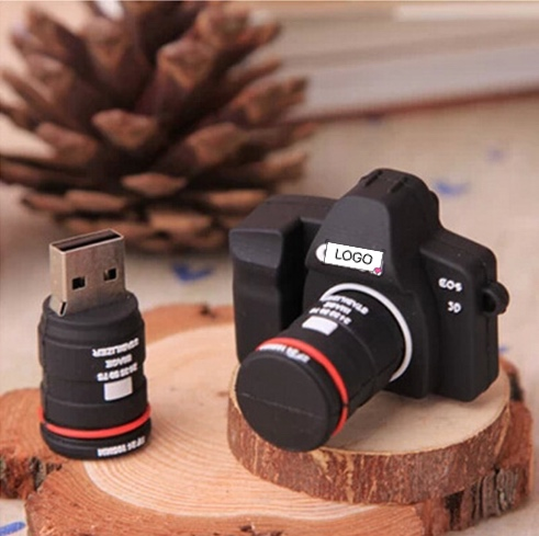 Cartoon Camera Usb Disk Creative Gift 16GB Fast Read And Write Accessories Memory Stick Mini Office Supplies