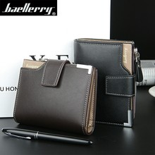 Baellerry New Business men's wallet Short vertical Male Coin