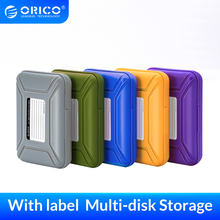 ORICO, bolsas de disco duro de 3,5 pulgadas y funda HDD, caja de almacenamiento protectora a prueba de humedad para HDD