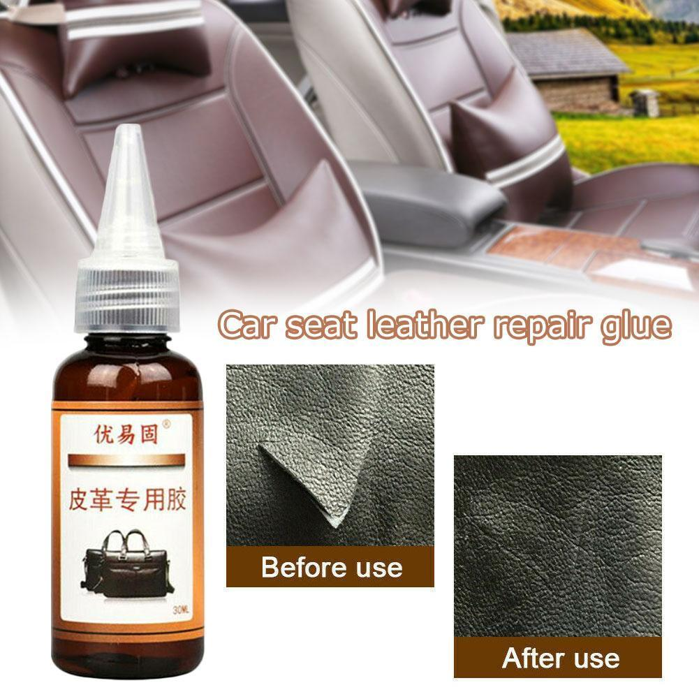 30ml Leather Repair Glue Sofa Car Seat Shoes Furniture Indoor Cleaner Sportswear Home Supplies Leather Restore Accessories O1N6 image