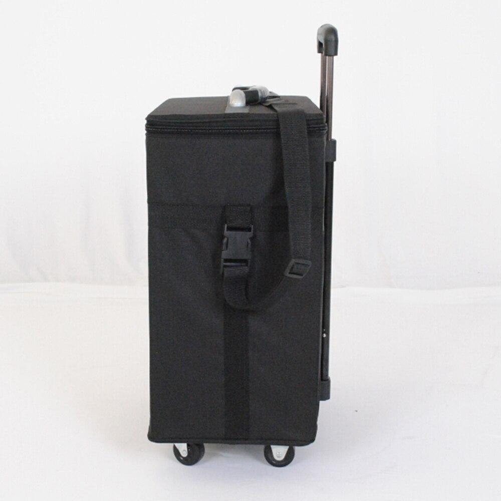 Gafas caja de almacenamiento maleta gafas muestra bolsa con capacidad de 180 piezas oftálmica marcos o 96 piezas gafas - 3