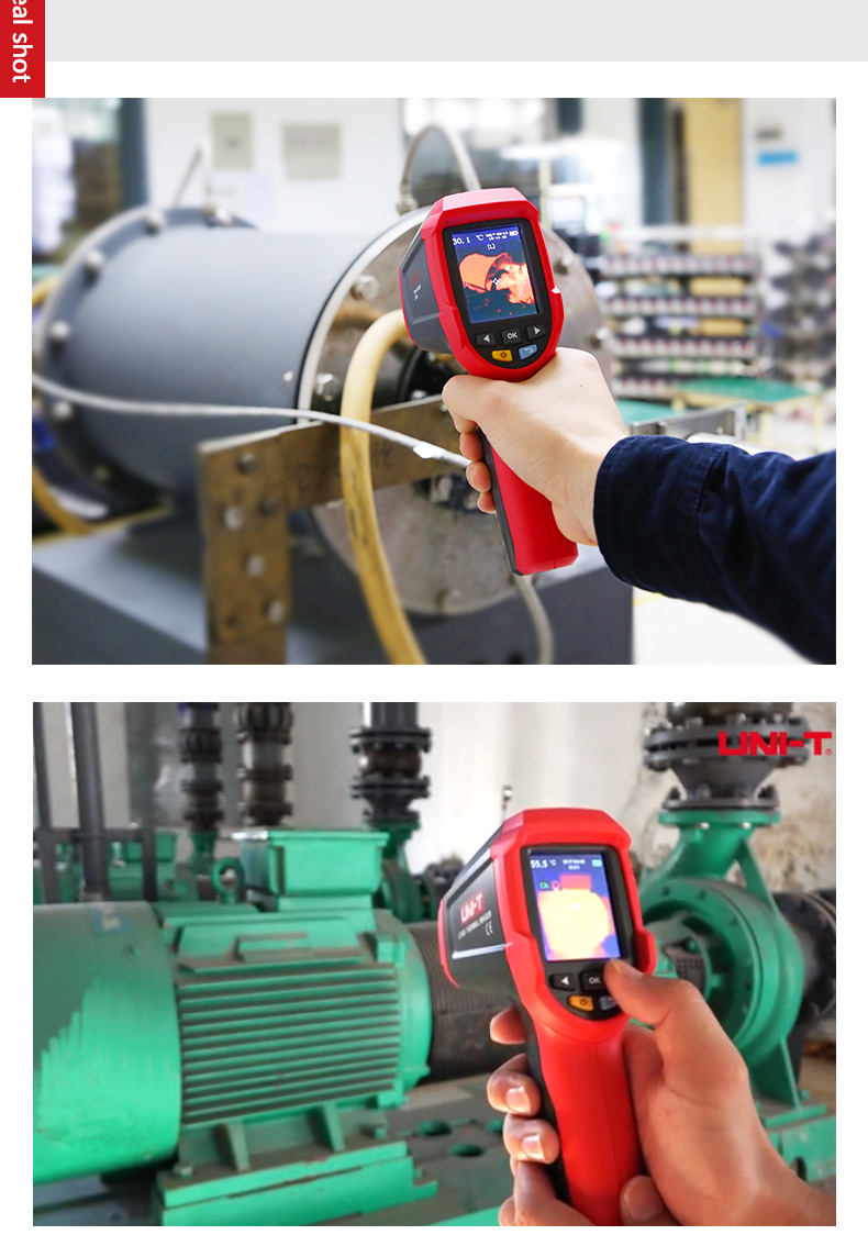 UNI-T Thermal Imaging Camera With SD Card Slot And USB Interface 11