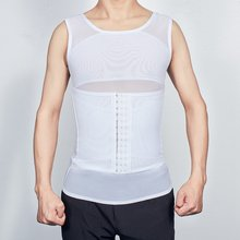 Мужской утягивающий шейпер жилет для осанки мужской живот коррекции