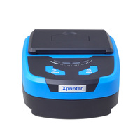 80mm  portable receipt printer low noise high speed printing  Bluetooth Thermal Printer Support Android POS Multi-language