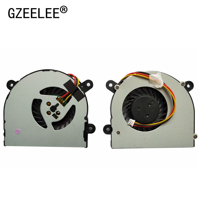 GZEELE New Laptop Cpu Cooling Fan For MSI S6000 X600 For CLEVO 7872 C4500 AB6505HX-J03 AB6605HX-J03 6-31-W25HS-100 BS5005HS-U89