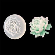 Moulds Cake-Mold Chocolate-Decoration Fondant-Soap Baking-Tool Flower Rose-Shape Silicone