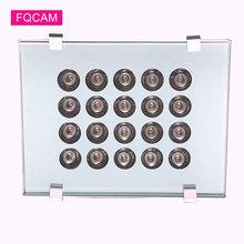 Ac 220v инфракрасный осветительный светильник 20 шт светодиоды