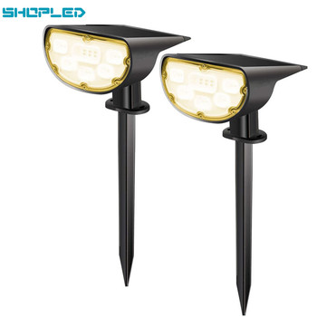 SHOPLED Led Solar Light Outdoor Lamp Garden Landscape Lawn P67 Powered 2 In 1 Wireless Decoration Wall Lighting