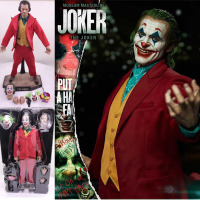 Joker Figure DC 30cm Movie Clown Male Jacques Phoenix Action Figure Model Action Figure Toy Doll Gift