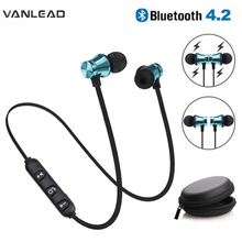US $1.69 30% OFF|Wireless Earphone Bluetooth Magnetic Headphones Neckband Sport With Mic Handsfree Headset For Phone IPhone Xiaomi Meizu Samsung-in Phone Earphones & Headphones from Consumer Electronics on AliExpress