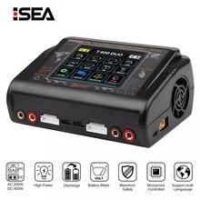 HTRC T400/T240 DUO RC зарядное устройство DC 400 Вт/240 Вт Dis зарядное устройство для LiPo LiHV LiFe Lilon NiCd NiMh Pb Зарядное устройство для моделей RC игрушки