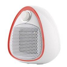 Mini calentador eléctrico pequeño, calentador de cerámica, calentador de baño y enfriamiento, calentador de doble uso (Enchufe europeo)