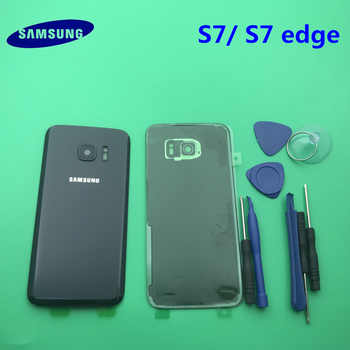 Replacement Original new Rear Panel Battery Glass Back Door Cover Samsung Galaxy s7 G930 S7 edge G935 G935F/A/P/T+tool - DISCOUNT ITEM  25% OFF All Category