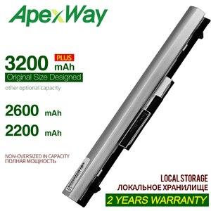 Apexway 4 komórki Laptop bateria do hp probook 400 430 440 G3 RO04XL RO06XL HSTNN-Q96C HSTNN-Q98C P3G13AA HSTNN-LB7A HSTNN-PB6P