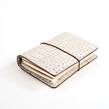ERAL traveler's notebook crocodile pattern top layer leather. medium size and Small size. Private pl