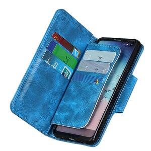 Image 5 - 6 כרטיס חריצי ארנק Flip עור מקרה עבור Wiko סאני 4 בתוספת Y80 Y70 760 ג רי 4 Stand סגירה מגנטית מזהה כרטיסי אשראי כיס