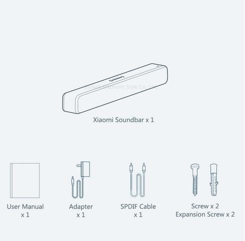 Barra de sonido Xiaomi Mi TV Soundbar 4