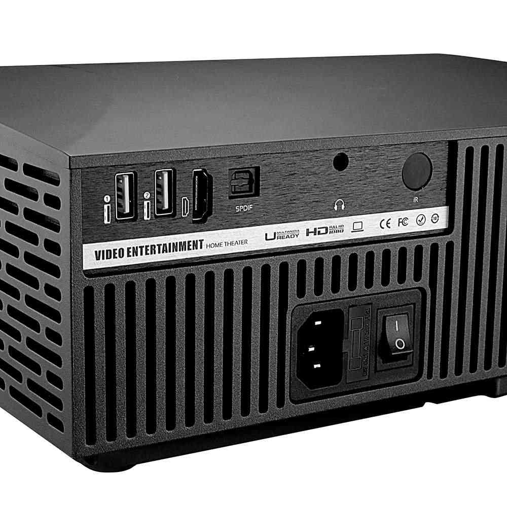 Nuevo VIVIBRIGHT F30 4K HD proyector LCD 1080P 3D UE FHD Mini proyector portátil 4200 lúmenes 1920x1080P de cine en casa