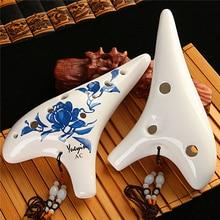 12 Hole Ocarina flute with bag Alto C/ Soprano C/G zelda ocarina of time okarina orff instruments ocarins Folk Music Instruments