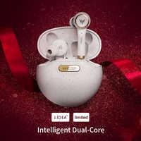 WHIZZER TP1S auricular Bluetooth inalámbrico 3D estéreo auricular inalámbrico fone de ouvido kulaklık наушники Micrófono dual de Navidad