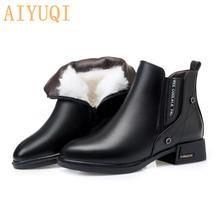 Женская зимняя обувь; Зимние ботинки; Новинка 2020 года; Женские