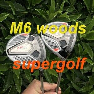 Image 3 - Yeni golf sopası başlığı M6 sürücü 3 #5 # fairway woods ile FUBUKI grafit mil başörtüsü anahtarı golf kulüpleri