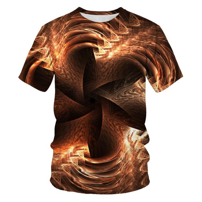 Мужская футболка с 3D принтом, новинка, брендовая футболка с коротким рукавом, Мужская забавная футболка в стиле Харадзюку, облегающая футболка в стиле хип-хоп, уличная футболка, Homme - Цвет: NT-083