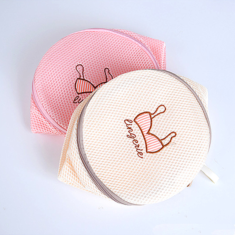 2019 New Lingerie Washing Bag For Home Mesh Bag For Underwear Clothes Laundry Mesh Net Bra Washing Bags Zipper Laundry Bag