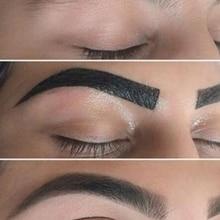 Eyebrow-Cream Enhancers Tint Makeup Air-Cushion-Dye Long-Lasting Brown Waterproof 4-Color