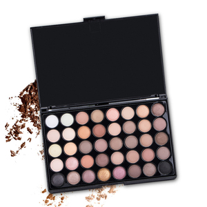 40 Colors Long Lasting Waterproof Matte Eyeshadow Non-blooming Glitter Earth Color Pallete Women Charm Eye Makeup Cosmetic TSLM2