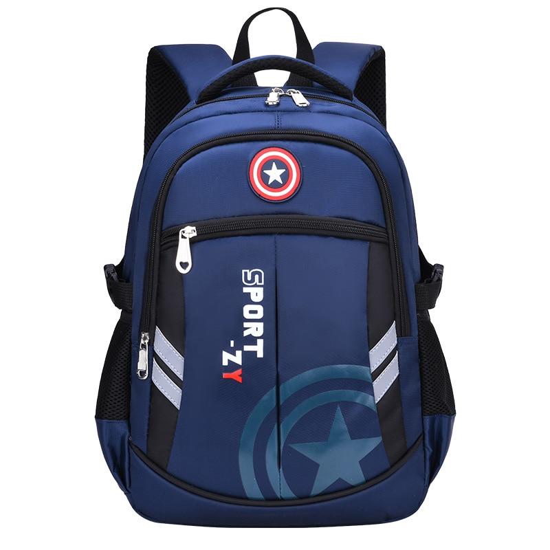 Children Large Orthopedics Schoolbag For Teenager Girls Boys Hign School Book Bag  Waterproof 2 Size Backpack Mochila Escolar
