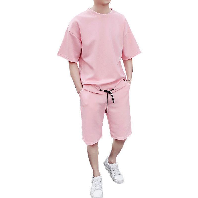 Ultimate SaleJogger-Suits Tracksuit Tshirts Men's-Sets Shorts Men Male Casual Brand Workout-Fitness-Sets