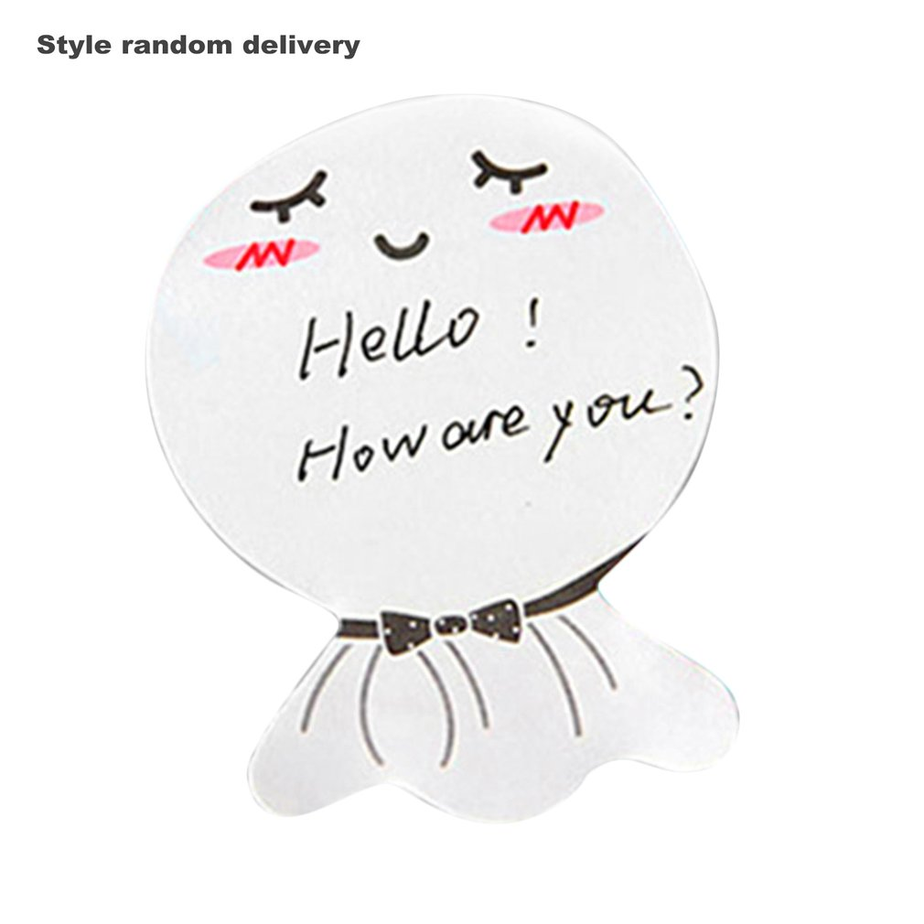 4 Packs Lovely Sunny Dolls Sticky Notes Cartoon Kawaii School Supplies Planner Stickers Paper Bookmarks Office Stationery