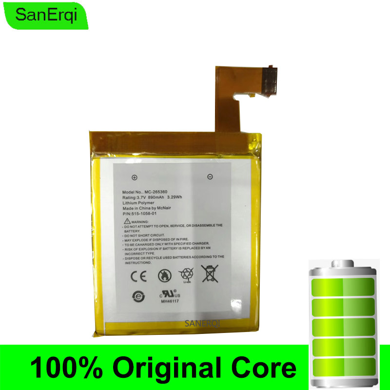 1PCS MC-265360 Battery for Kindle 4 <font><b>D01100</b></font> S2011-001-S DR-A015 Built-in battery image