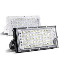 цена на RGB 50W Led Flood Light AC 220V 230V 240V Outdoor Floodlight Spotlight IP65 Waterproof LED Street Lamp Landscape Lighting