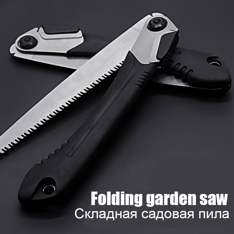 Saw Hand 10 Inch Portable Trimming Hand Saw Folding Multifunctional Pruning Garden Decoration Tool Butterfly Knife SK5 Hacksaw