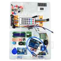 For Arduino UNO R3 RFID Starter Kit Upgraded Version Learning Suite With Box Diy Electronic Breadboard/Relay/Female Male Dupond