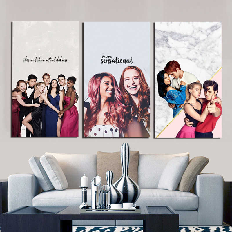 Riverdale TV Lili Reinhart Wallpapers Canvas Painting Print Bedroom Home Decoration Modern Wall Art Oil Painting Poster Picture