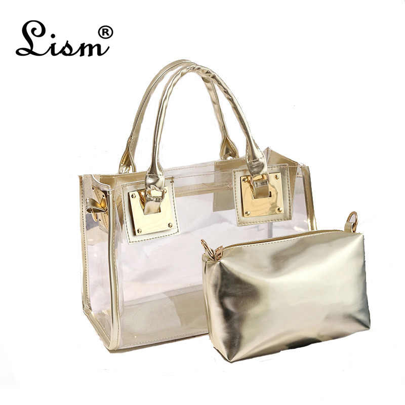 2019 Summer Transparent bag Women Shoulder Crossbody Messenger Bags New Fashion Women Handbags Female Bag Ladies tote sac a main
