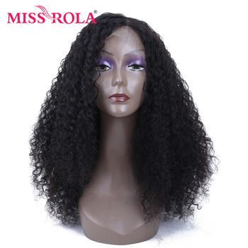 Miss Rola brazylijski ludzki włos peruki 150 gęstość koronki Frontal 13 #215 4 perwersyjne kręcone włosy peruki dla czarnych kobiet peruka z włosów typu remy tanie i dobre opinie Remy Ludzki Włos 13*4 wig Średnia wielkość 8-24 inches Natural Color