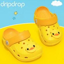 DRIPDROP Детские кроксы | Пляжные сандалии | Летние сабо | Детские тапочки | Детская летняя обувь | Детские сандалики