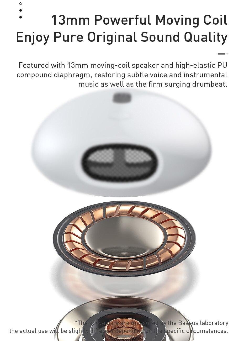 Baseus Encok W04 Pro TWS True Wireless Earphones With Wireless Charging 6